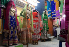 Mannequins dressed in latest Indian fashion dress for women Stock Photography