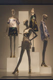 Mannequins in dresses royalty free stock images