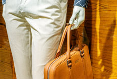Mannequins and handbags Royalty Free Stock Photography