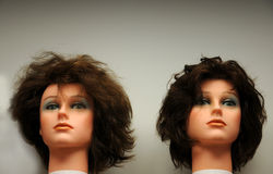 Mannequins heads Royalty Free Stock Image