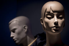Mannequins kobieta i mężczyzna obraz stock