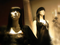 Mannequins in lingeree Stock Image
