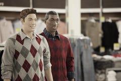 Mannequins mâles Images stock