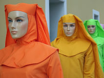 Mannequins. Outside a clothing store - Amazonia - Brazil Royalty Free Stock Photo