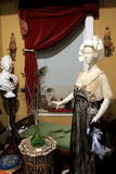 Mannequins in period dress,Canfield Casino,Saratoga Springs, New ork,2015 Stock Photo