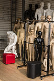 Mannequins put up for sale in a shop Stock Image