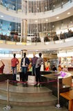 Mannequins in shopping mall Royalty Free Stock Photography