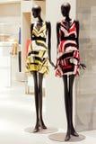 Mannequins w sklepie odzieżowym Obraz Stock