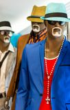 Mannequins wearing casual clothes Royalty Free Stock Photos
