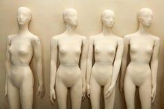 Mannequins zonder kleren Stock Afbeelding