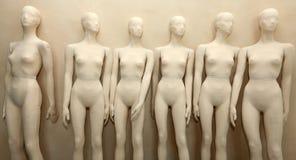 Mannequins zonder kleren Royalty-vrije Stock Afbeeldingen