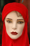Mannequinserie - Rot 2 Stockfoto