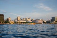 mannetje Stad maldives Royalty-vrije Stock Foto