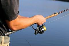 Mannfischen Lizenzfreie Stockfotos