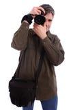 Mannfotografieren Lizenzfreies Stockfoto