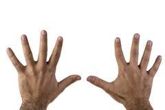 Mannhände Lizenzfreies Stockbild