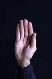 Mannhand stockbild