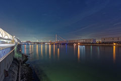 Mannheim e Ludwigshafen Foto de Stock