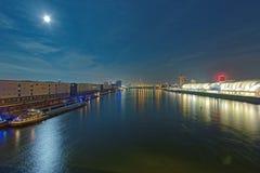 Mannheim e Ludwigshafen Foto de Stock Royalty Free