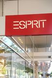Esprit store sign royalty free stock image