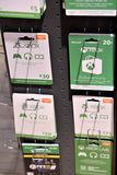 Xbox gift cards. Mannheim, Germany - August 23, 2017: Xbox gift cards. Xbox is a line of home video game consoles developed by Microsoft Stock Photos