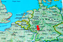 Germany Map Stock Photos Royalty Free Pictures - Germany map mannheim