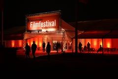 Mannheim/Heidelberg, Internationales Filmfestival Mannheim-Heidelberg 2017. Mannheim/Heidelberg, Germany, 2017-11-09. Before the opening. The festivalarea Stock Photo