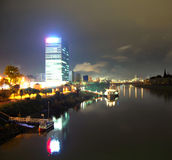 Mannheim at night Royalty Free Stock Photography