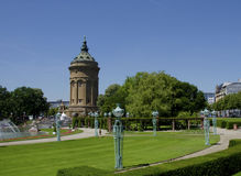 Mannheim park downtown Stock Photos