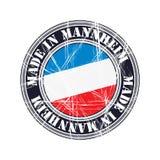 Mannheim rubber stamp Stock Photos