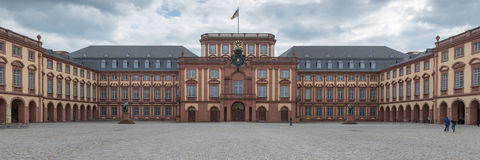 Mannheim Tyskland Royaltyfria Foton