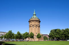 Mannheim Wasserturm Royalty Free Stock Photography