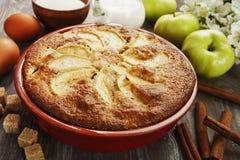 Mannick με τα μήλα Στοκ Φωτογραφίες