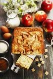 Mannick με τα μήλα Στοκ Εικόνα