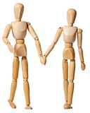 Mannikin couple Royalty Free Stock Photography