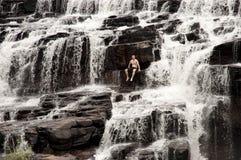 Manning Falls - Kimberley - Australië Stock Afbeelding