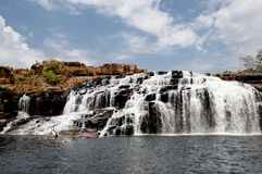 Manning Gorge Waterfall - Austrália fotos de stock royalty free