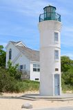 Manning Lighthouse i Michigan Arkivfoton