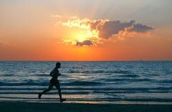 Mannlack-läufer Lizenzfreie Stockfotos