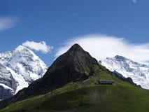 Mannlichen die Schweiz Stockbilder