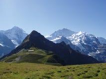 Mannlichen Suiza Fotografía de archivo libre de regalías