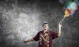 Mannmaler Lizenzfreie Stockbilder