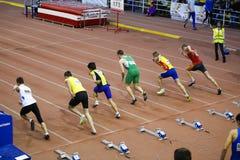 Mannrennen Lizenzfreies Stockfoto