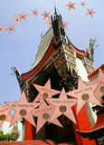Manns Chinese Theater - Hollywood Stars Stock Image
