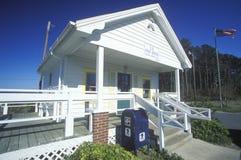 Manns Harbor Post Office Stock Photos