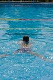Mannschwimmen Lizenzfreie Stockbilder