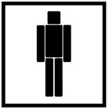Mannsymbol, Mannsymbol Lizenzfreies Stockfoto