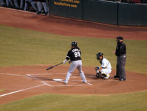Manny Ramirez stands in the batters box Royalty Free Stock Photos