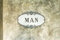 Mannzeichen Lizenzfreies Stockbild