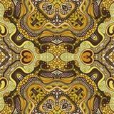 Mano étnica de la naturaleza decorativa abstracta del vector Fotos de archivo libres de regalías